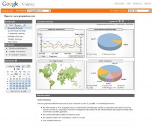 Analytics Monitoraggio Siti Web