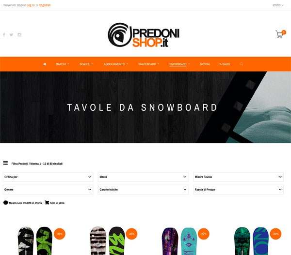 predonishop.it