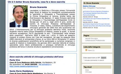 Blog medico a cura del dott. Bruno Scarante