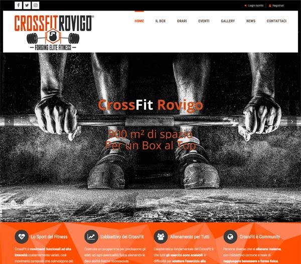 CrossFit Rovigo Portfolio Siti Web